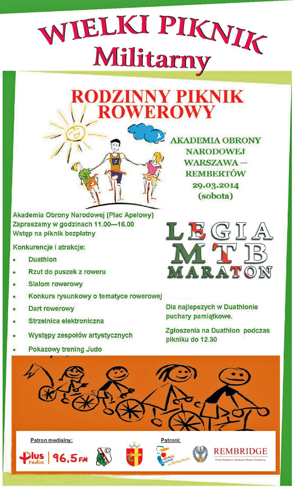 Piknik Rowerowy - plakat